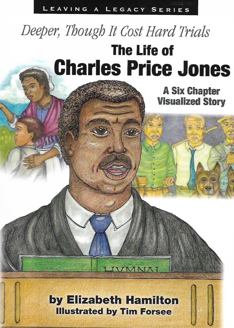 Charles Prince Jones Illustrated Story Cover