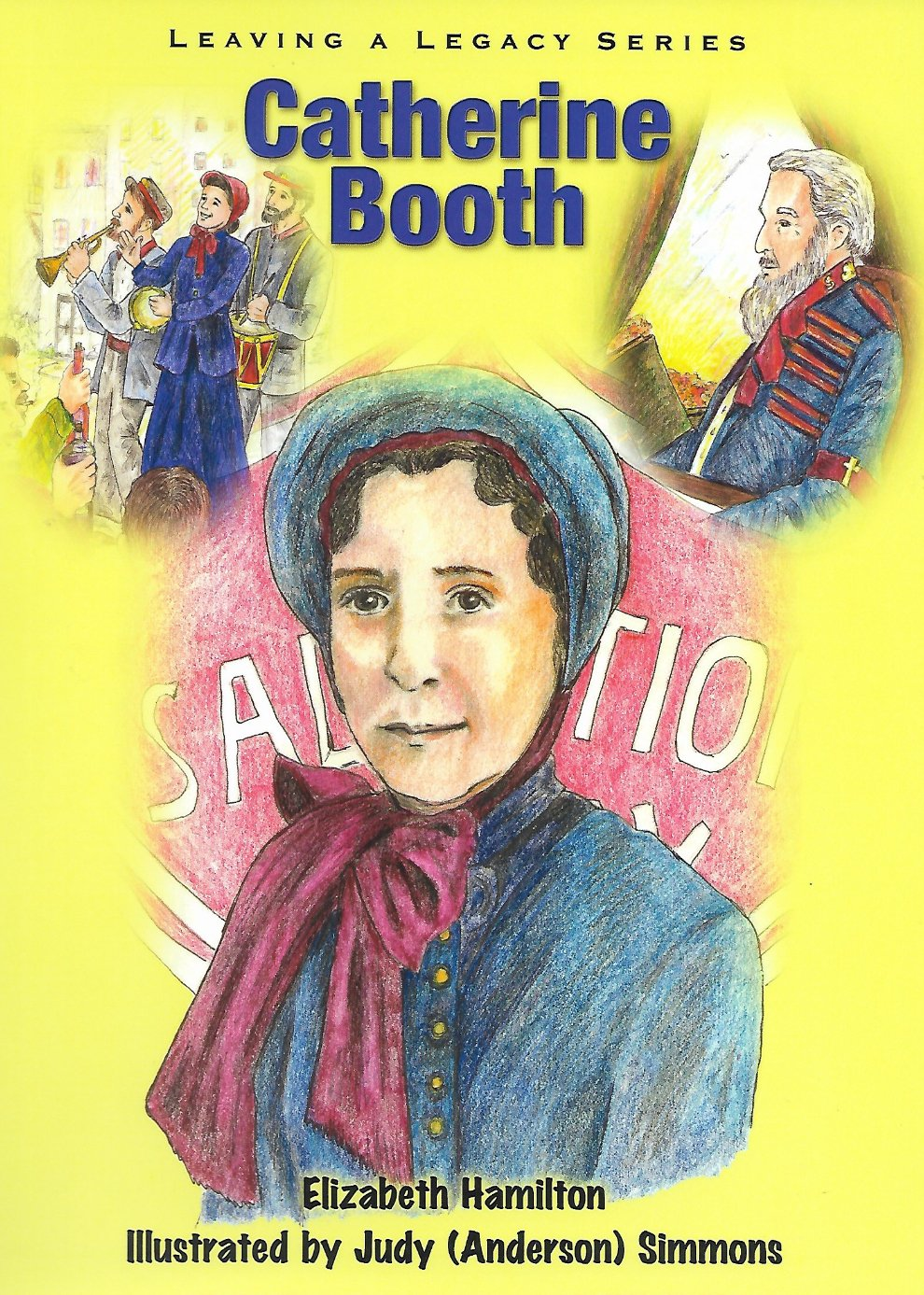 Catherine Booth Illustrated Story Cover