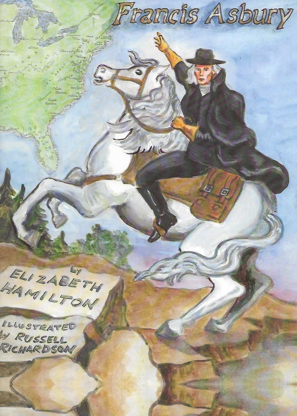 Francis Asbury Illustrated Story Cover